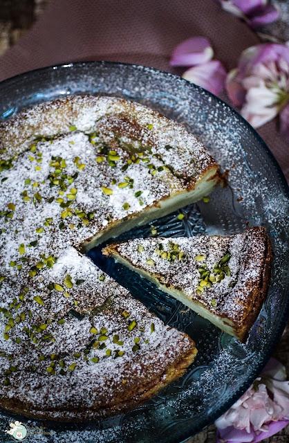 Springformkuchen mit Pistazien