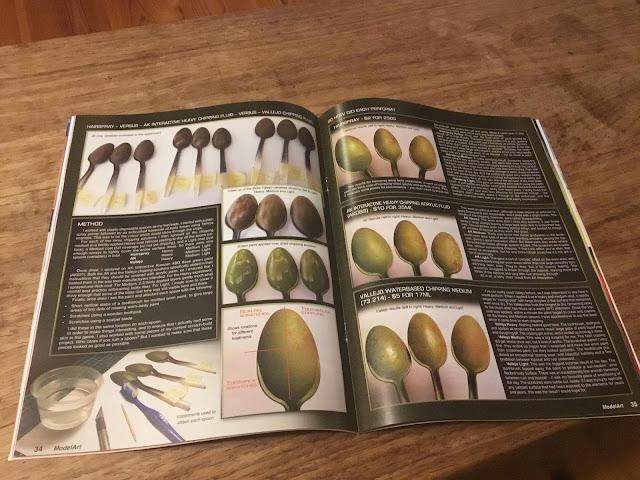 ModelArt Australia magazine article by Dave Hourigan