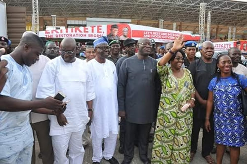 Fayemi at a rehearsal for his swearing-in as Ekiti state governor (PHOTOS)