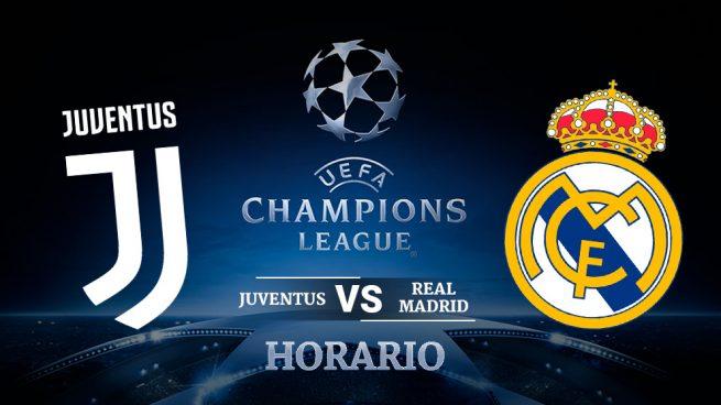 Horario y dónde ver: Juventus vs. Real Madrid