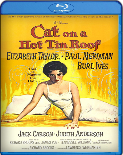 Cat on a Hot Tin Roof [BD25] [1958] [Latino]