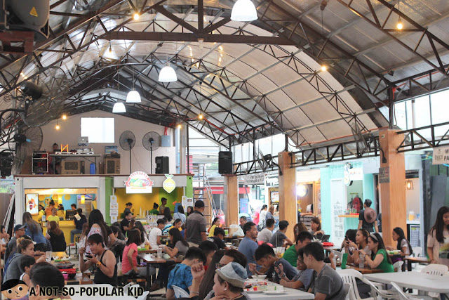 Interior of The Ranch Food Park
