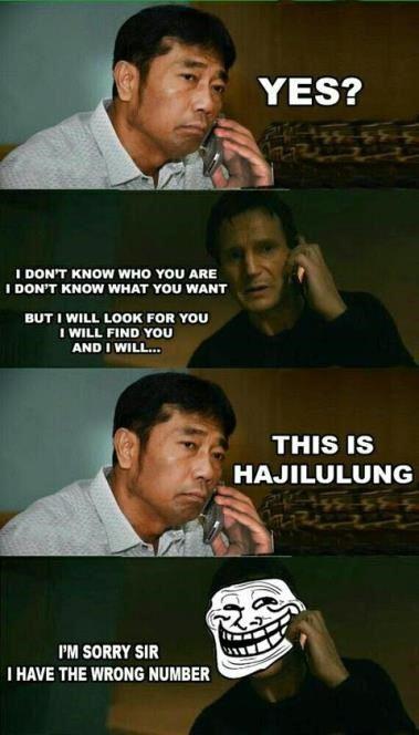 meme comic haji lulung