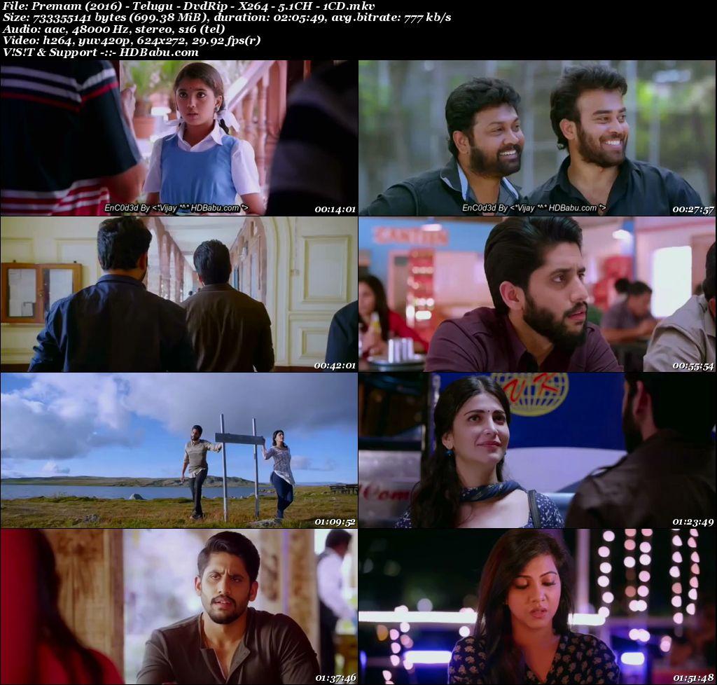 Premam 2016 Telugu Full Movie Download