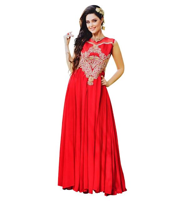 Designer Ethnic Wear Fashion: party wear gowns