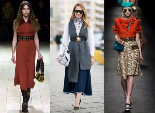 Belts as a fashion accessory