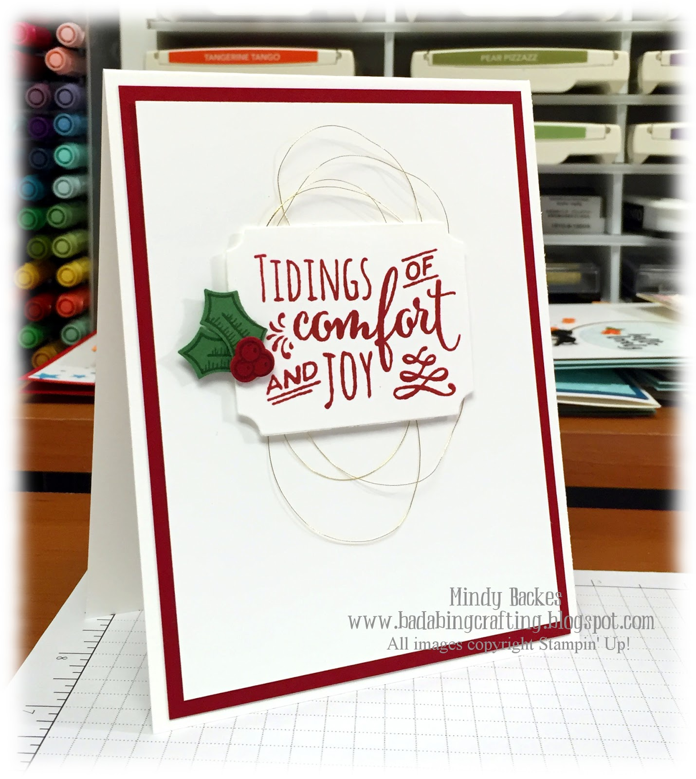 Christmas In August Poster.Bada Bing Paper Crafting Christmas In August