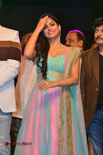 Actress Naina Ganguly Stills in Long Dress at Vangaveeti Audio Launch  0041.JPG