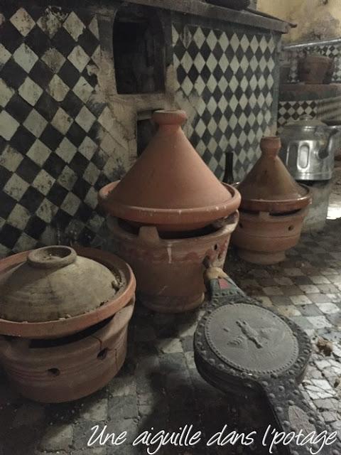 Cuisines du palais El Glaoui / Fès