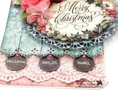 Christmas Gift Tag Tutorial Stamperia Christmas