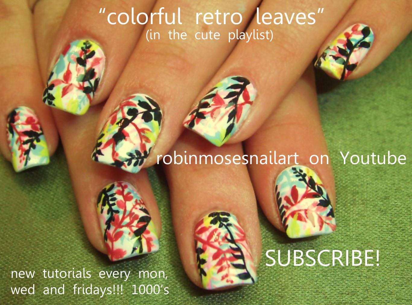 Nail Art by Robin Moses: bumblebee nail, opi yellow, indie nails ...