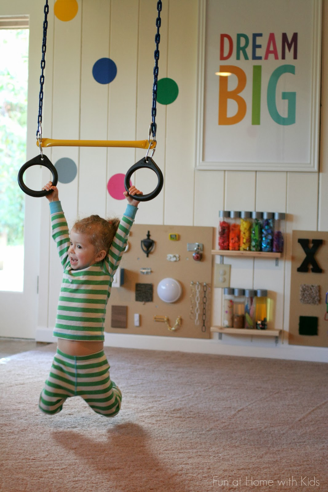 Playroom: Playroom Design: DIY Playroom With Rock Wall