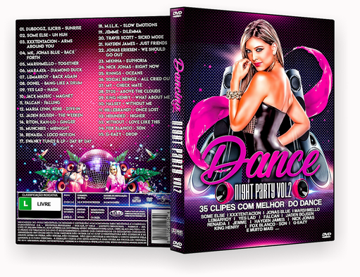 CAPA DVD – DANCE NIGHT PARTY VOL.2 – ISO
