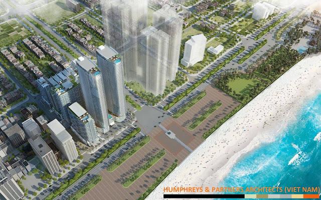 Phối cảnh dự án Times Square Đà Nẵng