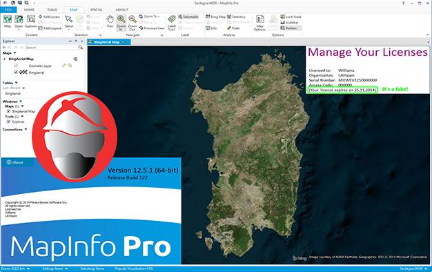 MapInfo v12.5 + Encom Discover 2013 Free Gratis