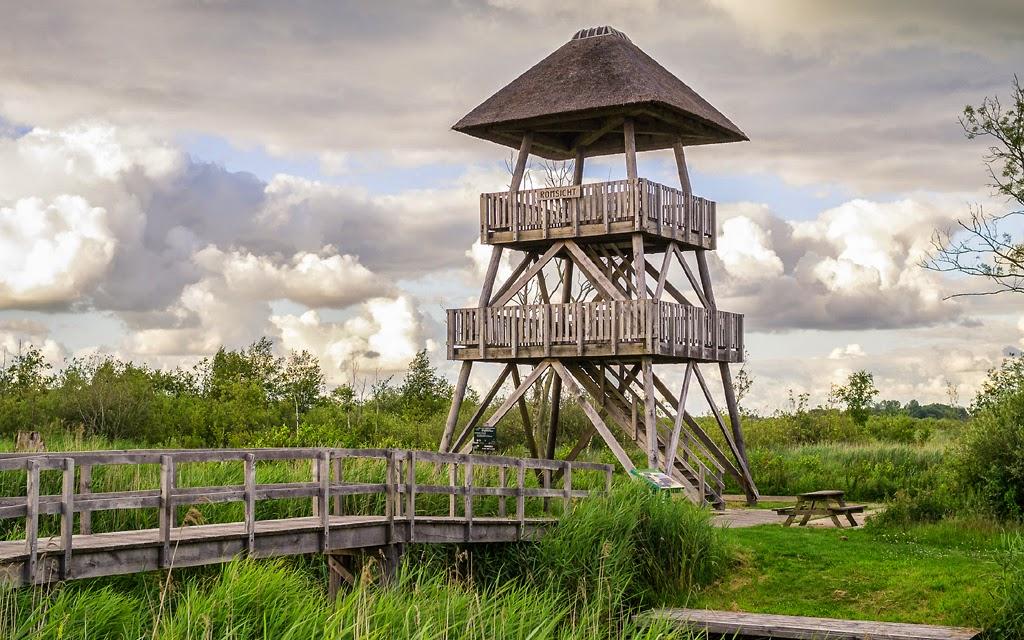 Vogelkijkhutten in nederland en vlaanderen oudega romsicht alde feanen - Houten toren zwembad ...