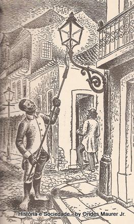 ϟ○• História e Sociedade •○ϟ  Dos lampiões à eletricidade ... a09709b097