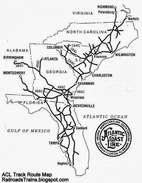 railroad freight train lo otive engine emd ge boxcar bnsf csx fec PRR GP 9 acl map atlantic coast line railroad track routes acl atlantic coast line railroad track route map alabama ge ia florida north carolina