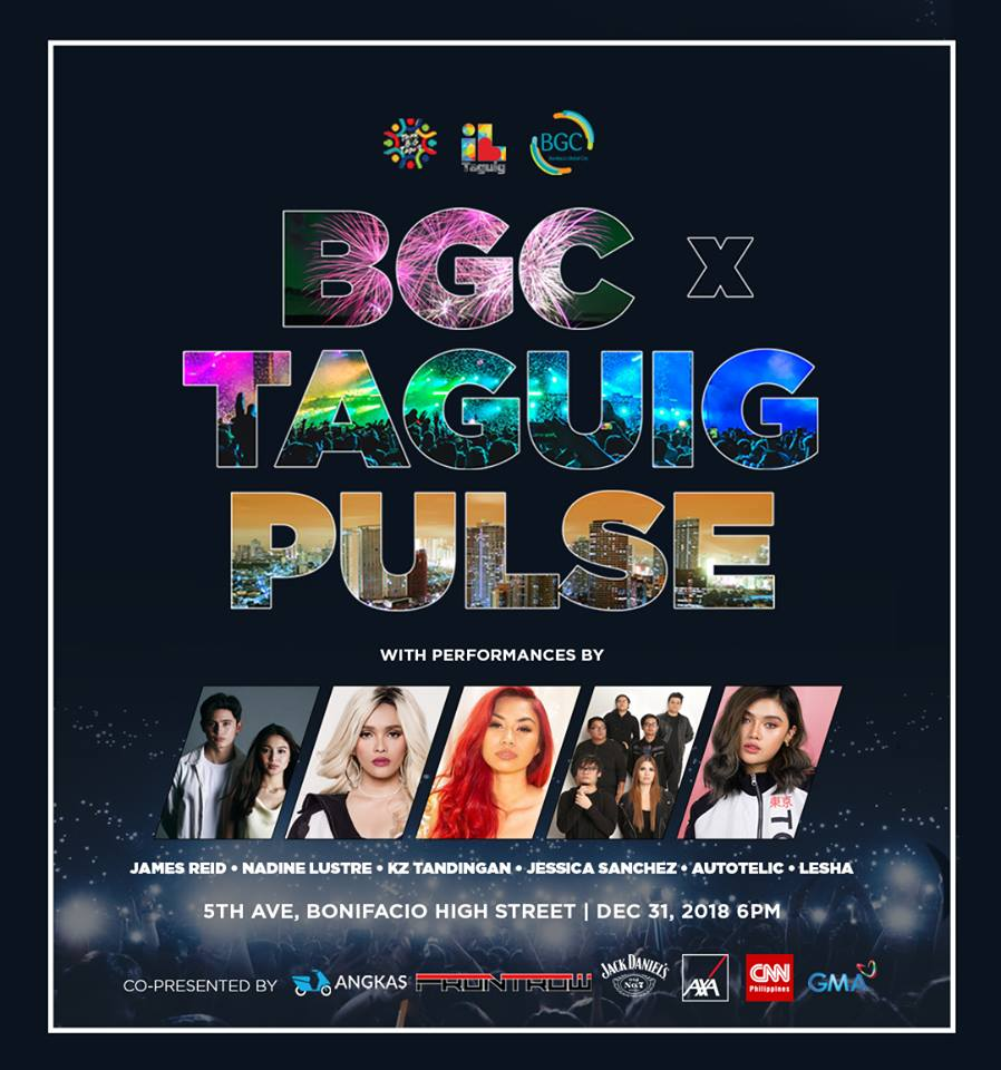 The Bonifacio Global City (BGC) x Taguig Pulse New Year Countdown 2019