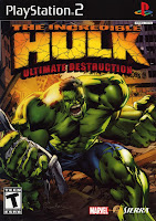 The Increbible Hulk: Ultimate Destruction (2005) PS2
