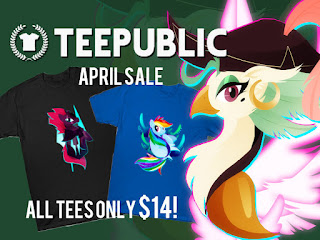 MLP Teepublic's April Sale