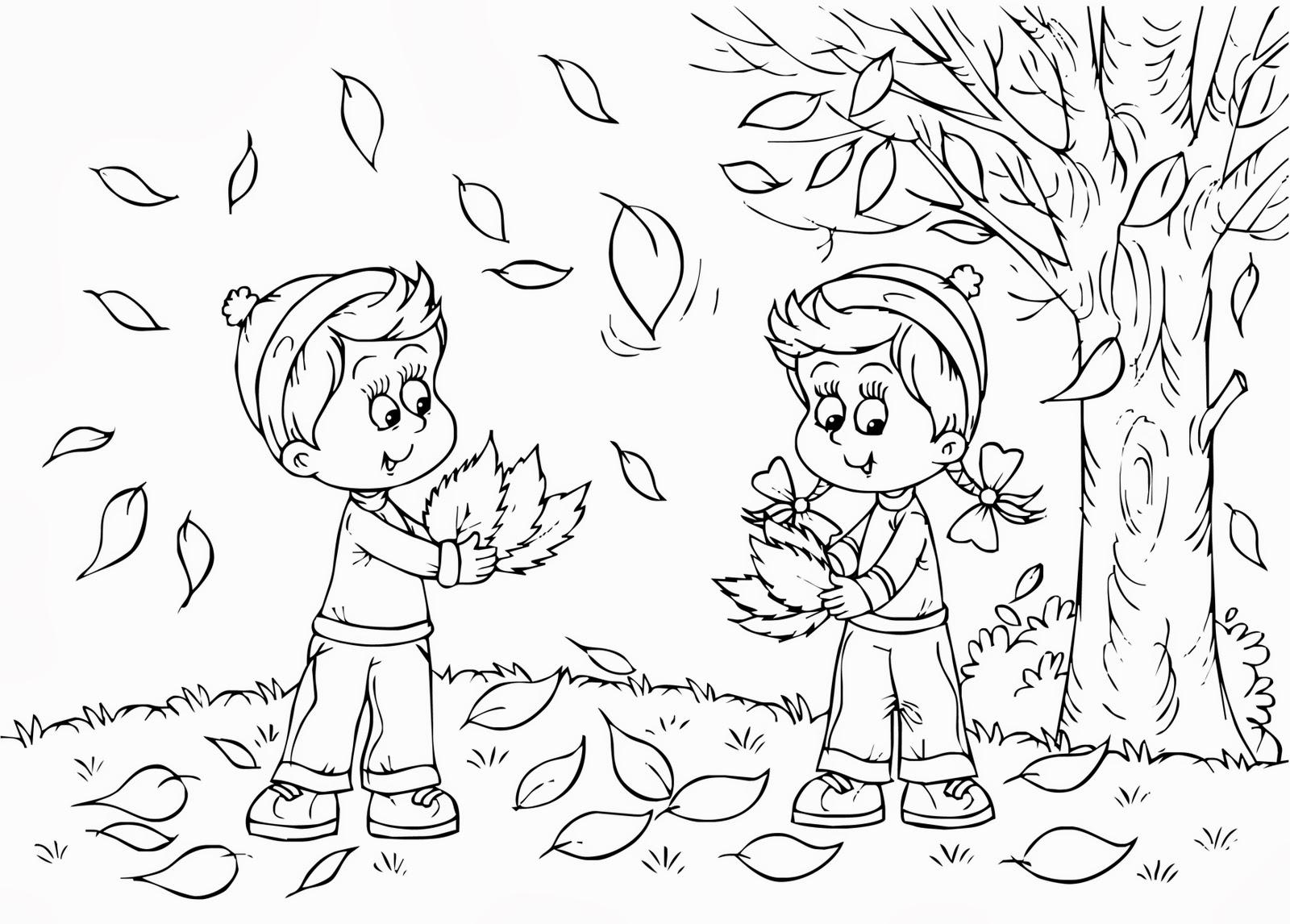 Immagini Belle Da Dipingere disegni da colorare autunno - colare4u