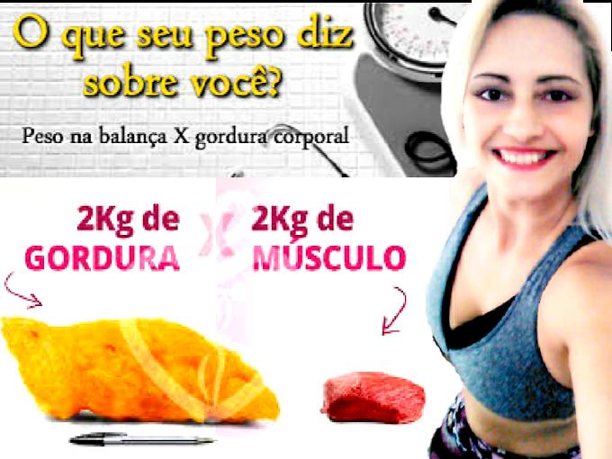 Perder peso e gordura qual a diferença
