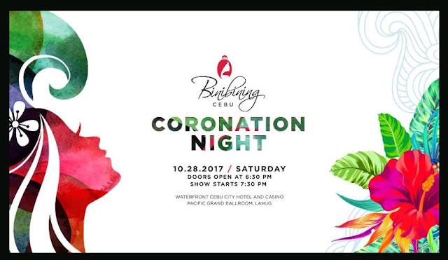 Binibining Cebu 2017 Coronation Night