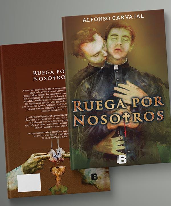 Diseño de carátula libro, Ruega por nosotros
