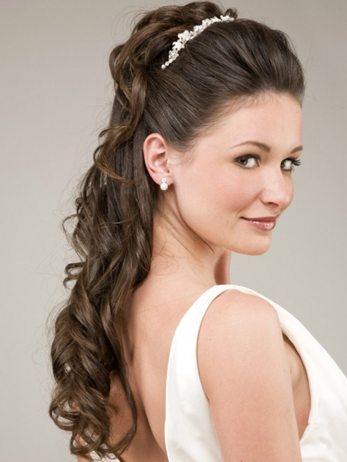 50 Dreamy Wedding Hairstyles For Long Hair: Bridal Hairstyles For Long Hair Half Up : Have Your Dream