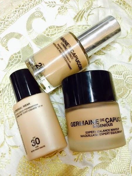 Tipos de maquillaje de Germaine de Capuccini