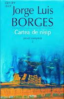 coperta carte Jorge Luis Borges Cartea de nisip