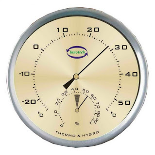 Jual Analog Thermohygrometer Innotech TH-132