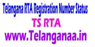 Telangana RTA Registration Number Status