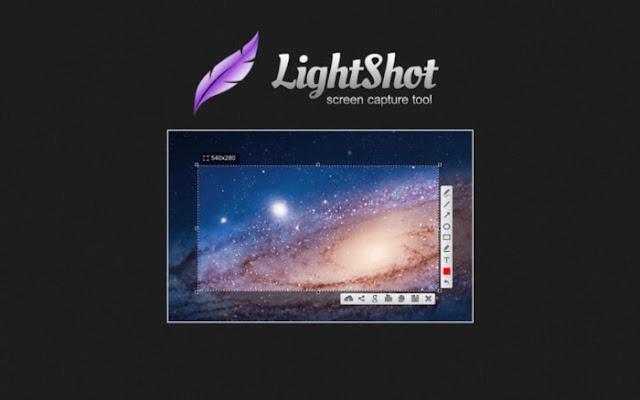 تحميل برنامج تصوير الشاشة LightShot للكمبيوتر