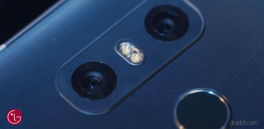 LG G6 Kamera belakang (dual camera)