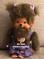 Monchhichi Maman avec Bébé Violette 236490