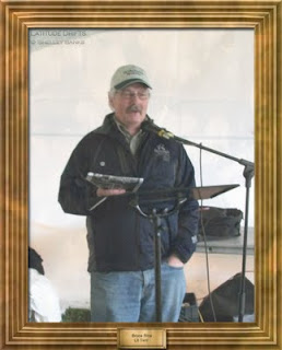 Writer Bruce Rice, at the Cathedral Village Arts Festival 2011