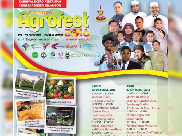 selangor agrofest, agrofest morib, karnival ekspo pertanian