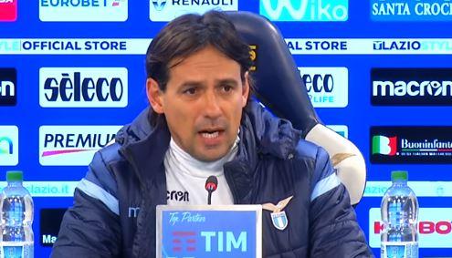 La conferenza stampa di Inzaghi pre Cagliari Lazio