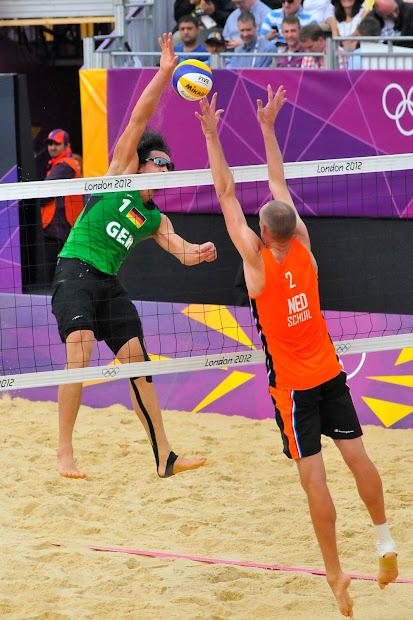 London 2012 Olympic Beach Volleyball