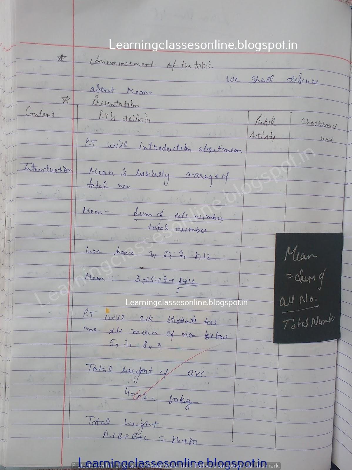 Sample Detailed Lesson Plan In Math Grade 5,
