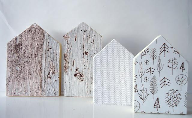 malutkie domki drewniane