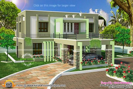 Enjoyable January 2015 Kerala Home Design And Floor Plans Largest Home Design Picture Inspirations Pitcheantrous