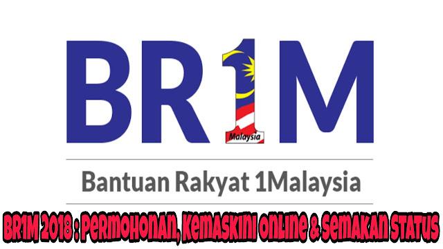 BR1M 2018 : Permohonan, Kemaskini Online & Semakan Status