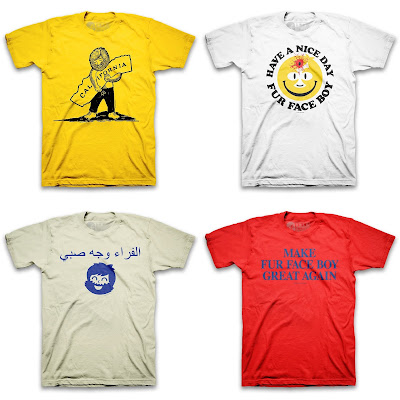 Fur Face Boy 2016 T-Shirt Collection