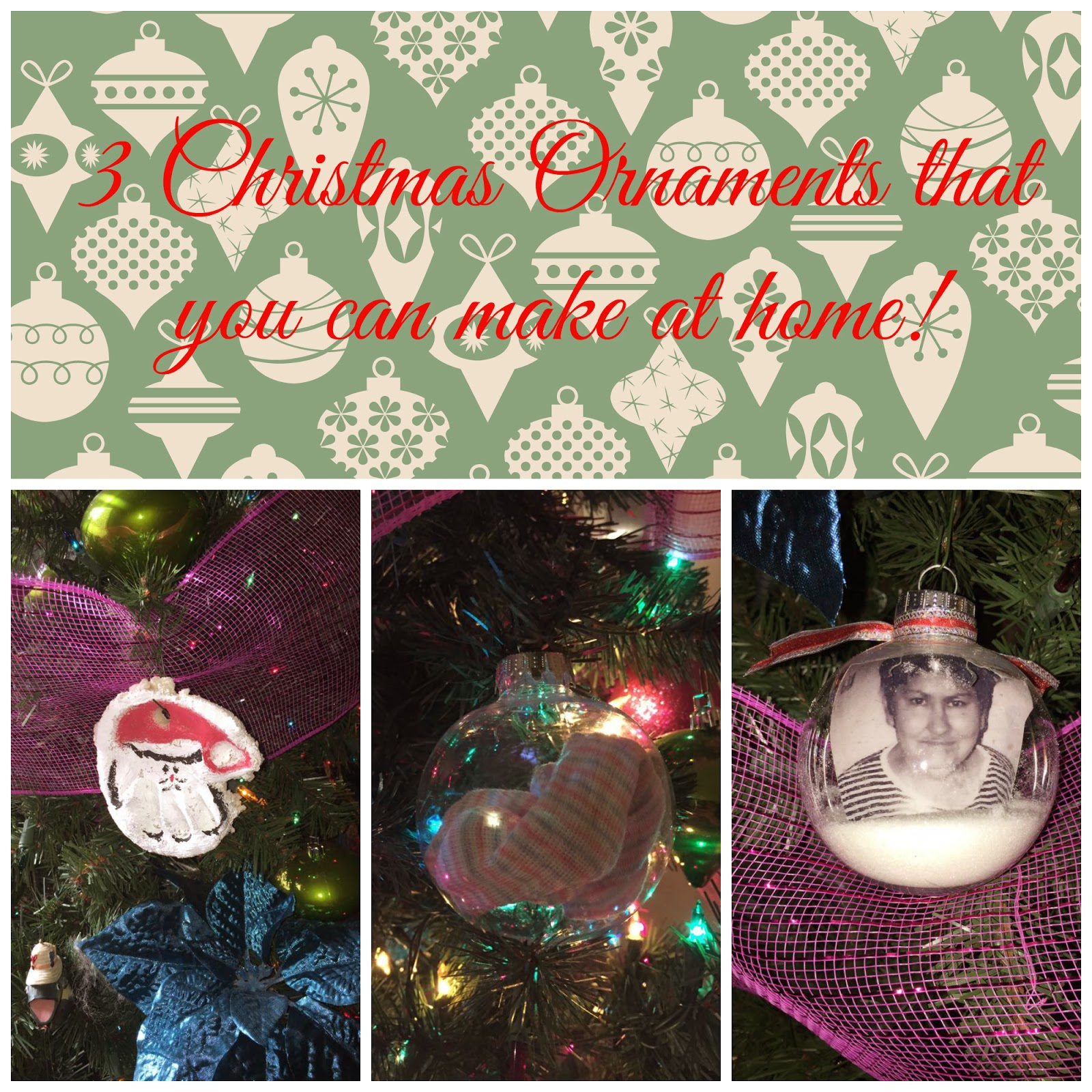 Della Devoted!: 3 Christmas Ornaments That You Can Make At ...
