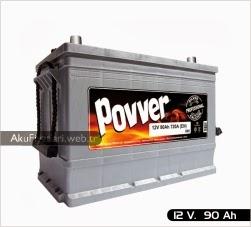 povver akü ağır hizmet serisi 12 volt 90 amper