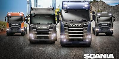 Nova geração de caminhões da Scania