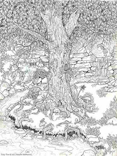 garden with flower printable adult coloring pages